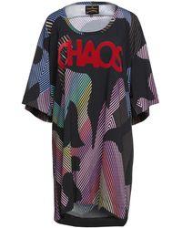 Vivienne Westwood Anglomania Minivestido - Negro