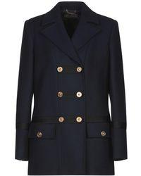 Versace Coat - Blue