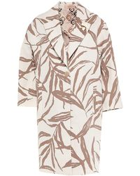 Altea Overcoat - White