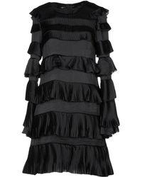 Annarita N. Short Dress - Black
