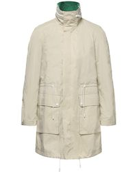 Army by Yves Salomon Overcoat - Natural