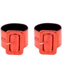 The Attico Armband - Rot