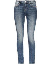 Frankie Morello Denim Pants - Blue