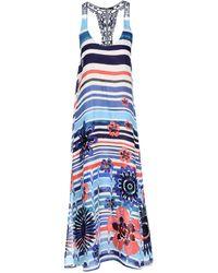 Desigual - Long Dress - Lyst