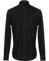 Lee Jeans Denim Shirt - Black