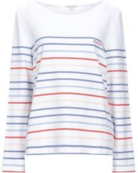 Barbour Sweatshirt - Weiß