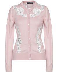 Dolce & Gabbana Cardigan - Rosa