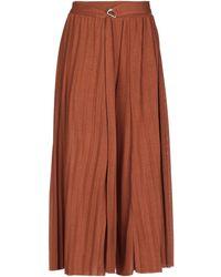 CROCHÈ Trouser - Brown