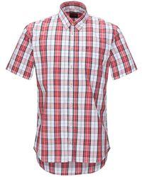 Sun 68 Camisa - Rojo