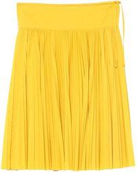 MAX&Co. Midi Skirt - Yellow