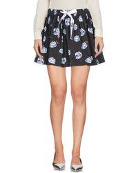Au Jour Le Jour Mini Skirt - Grey