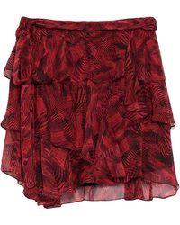 IRO Mini Skirt - Red