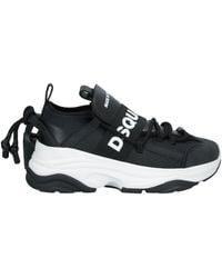 DSquared² Sneakers mit Logo - Schwarz