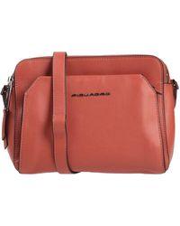 Piquadro Cross-body Bag - Red