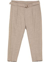 Cambio Trousers - Natural
