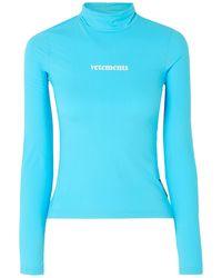 Vetements T-shirt - Blue