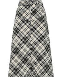 Ellery Midi Skirt - Natural