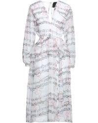 Marc Ellis Midi Dress - White
