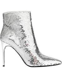 Alice + Olivia Ankle Boots - Metallic