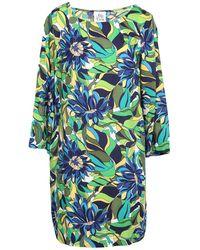 Attic And Barn Short Dress - Green