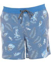 O'neill Sportswear Badeboxer - Blau