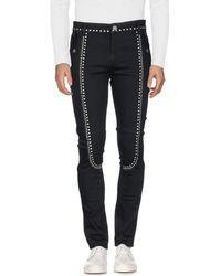 Trussardi Denim Trousers - Black