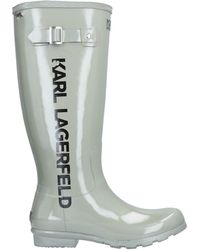 Karl Lagerfeld Boots - Gray