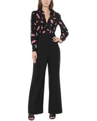 Diane von Furstenberg Jumpsuit - Black