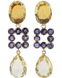 Bounkit Earrings - Yellow
