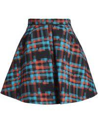 Delpozo Knee Length Skirt - Black