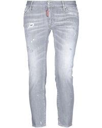 DSquared² Denim Trousers - Gray