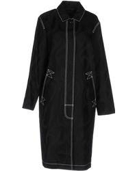 Alexander Wang Overcoat - Black