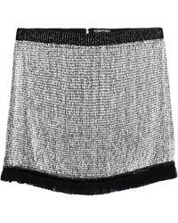 Tom Ford Mini-jupe - Métallisé