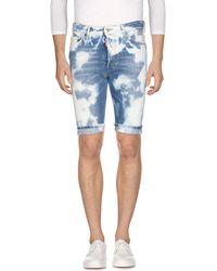 DSquared² Bermuda en jean - Bleu