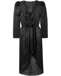 Dundas Midi Dress - Black