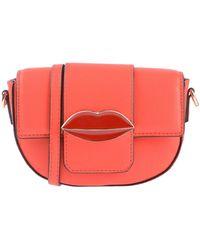 Essentiel Antwerp Cross-body Bag - Red