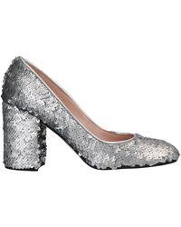 Pollini Court Shoes - Metallic