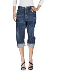 DSquared² Pantacourt en jean - Bleu