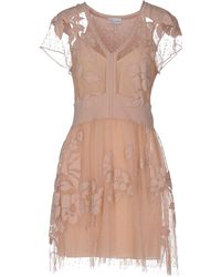 RED Valentino Short Dress - Pink
