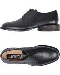 Jacquemus Lace-up Shoe - Black