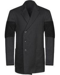FORCEREPUBLIK Overcoat - Black