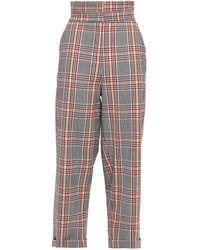 Paper London Pantalones - Gris