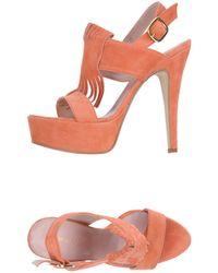 Annarita N. Sandals - Orange