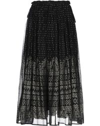 Mes Demoiselles Long Skirt - Black