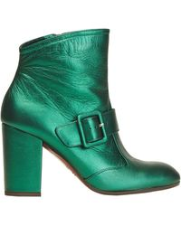 Chie Mihara Ankle Boots - Green