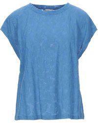 Attic And Barn T-shirt - Blue