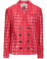 Marco De Vincenzo Suit Jacket - Red