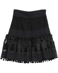 No Secrets Mini Skirt - Black