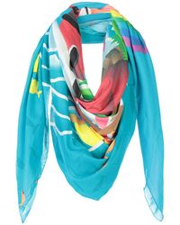 Ultrachic - Square Scarves - Lyst