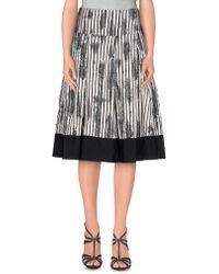 Donna Karan - 3/4 Length Skirts - Lyst